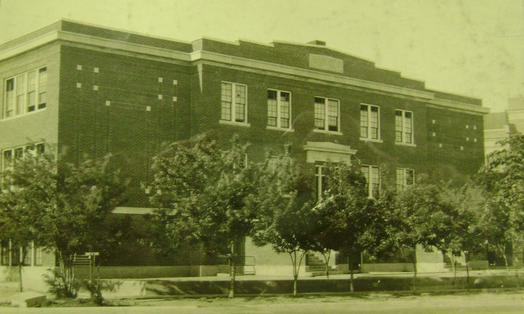 Calkins Hall, date unknown (Photo courtesy of the Finney County Historical Society)