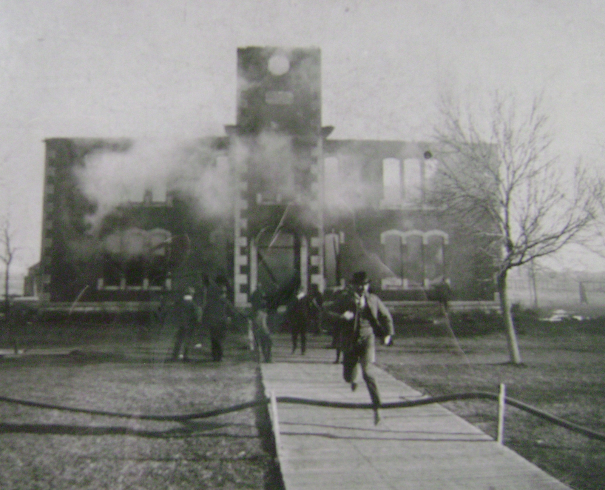 Northside Burning, 1901 (Photo courtesy of the Finney County Historical Society)