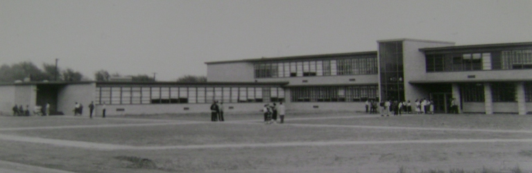 New High School, 1954 (Photo courtesy of the Finney County Historical Society)