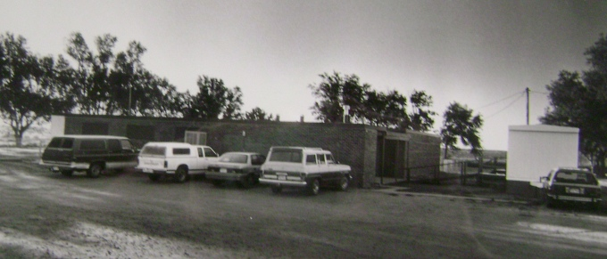 Valentine School, 1990 (Photo courtesy of the Finney County Historical Society)